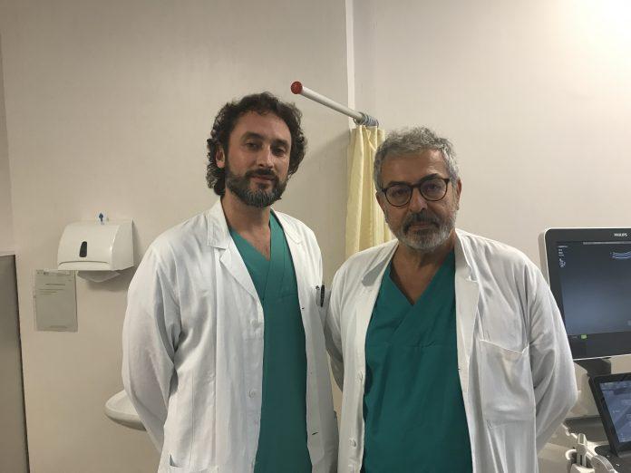 I dottori Luca Orazi e Paolo Zampriolo