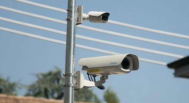 Nuove telecamere in centro